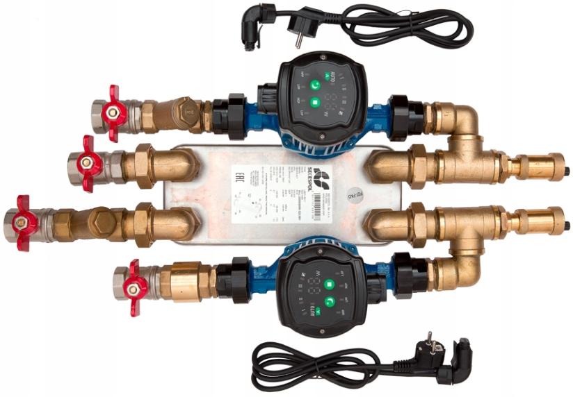 Wymiennik pompa zestaw wkład wodny płaszcz 20 KW