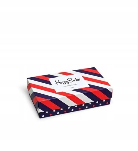 Giftbox 3-pak Skarpety Happy Socks XSTR08-6000