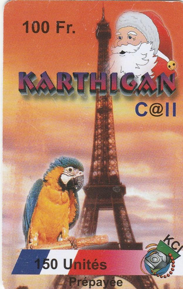 Francja - Papuga i Mikołaj
