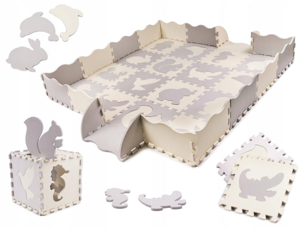 Puzzle piankowe mata/ kojec dla dzieci 36EL