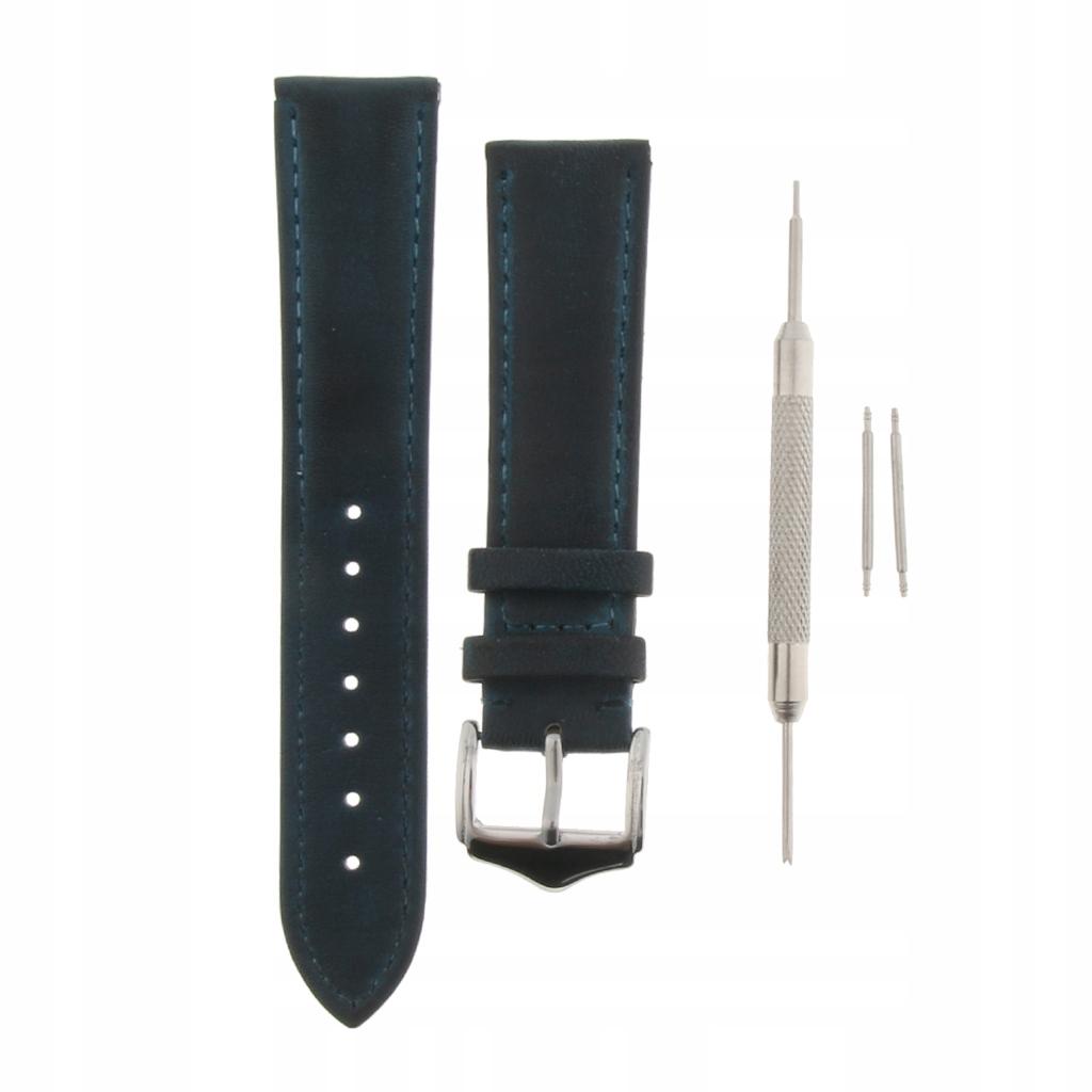 Pasek na rękę pasek do zegarka - Niebieskie 20mm
