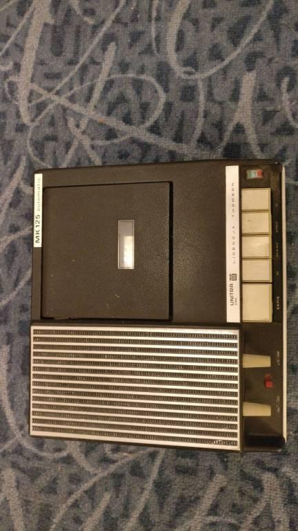 UNIKAT! Magnetofon ZK125