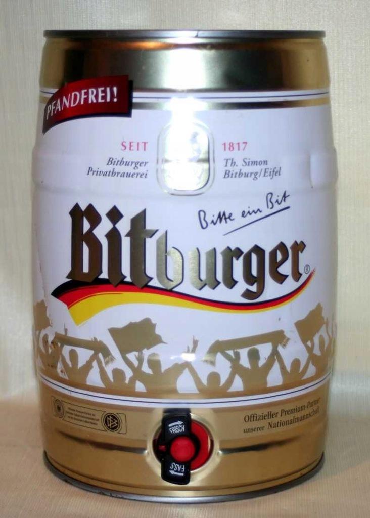 Piwo Beczka Bitburger 5 L Wyrob Kolekcjonerski 8929356402 Oficjalne Archiwum Allegro
