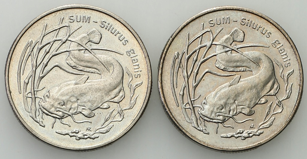 2 złote 1995 sum - zestaw 2 sztuk - st.1/1-