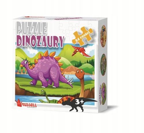 Puzzle Dinozaury 24