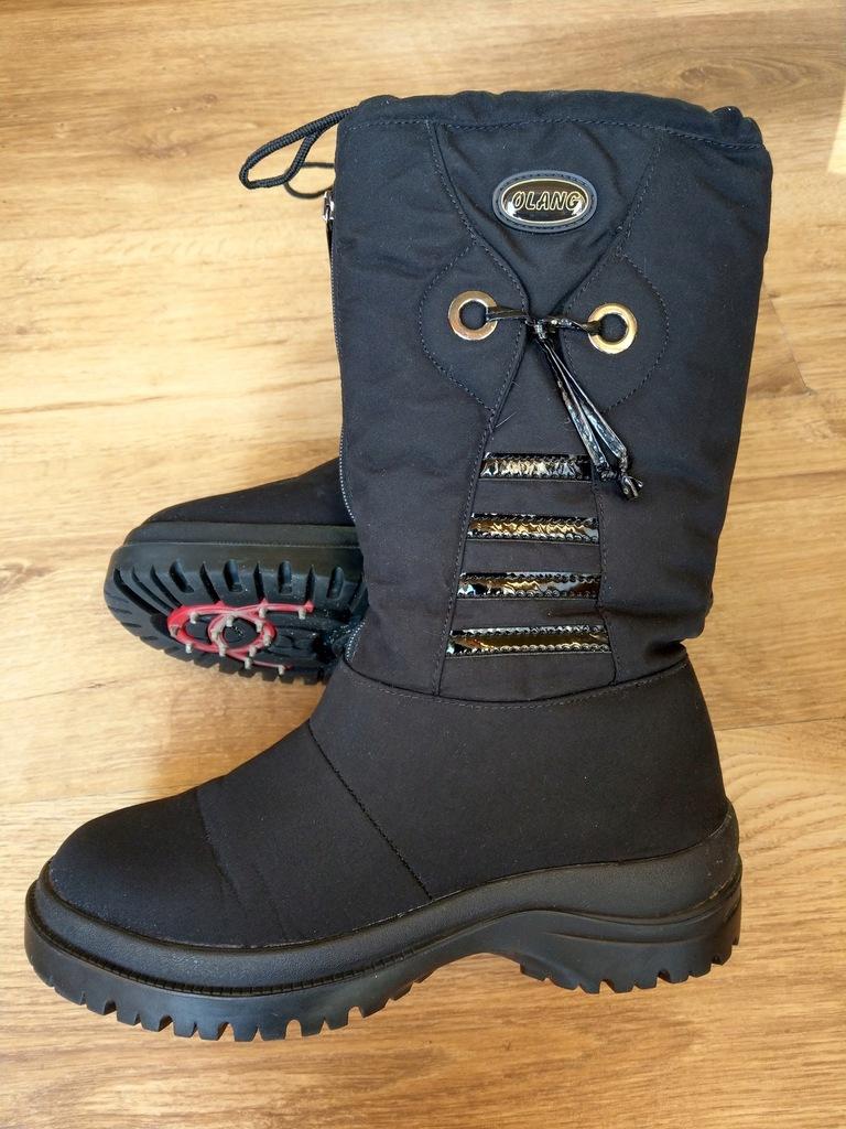 Buty zimowe, śniegowce Olang Ziller OC r.39 Raczki
