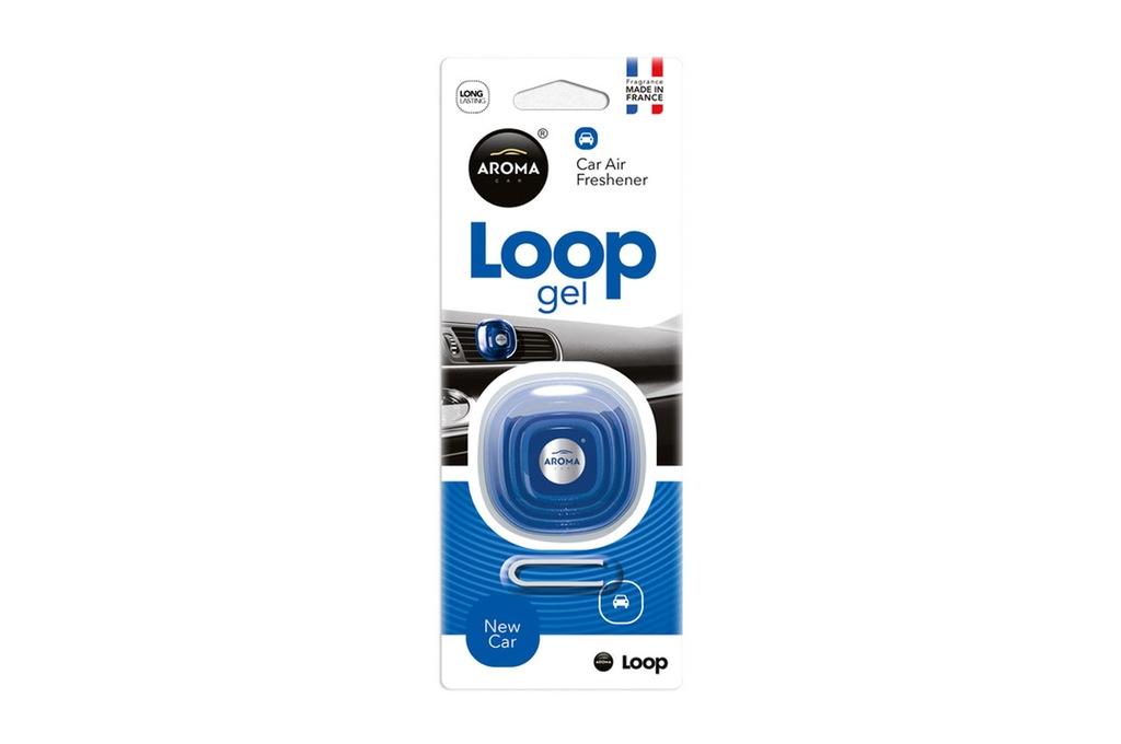 Odświeżacz powietrza AROMA CAR LOOP - New car