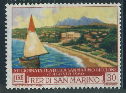 San Marino 30 lire - 1960 Riccione