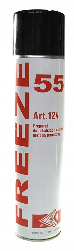 ZAMRAŻACZ FREEZE 55 600ML SPRAY -55C ELEKTRONIKA