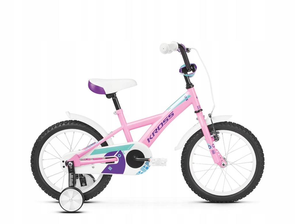 Rowery dziecięce Kross Mini 3.0 Różowy 16 Niebiesk