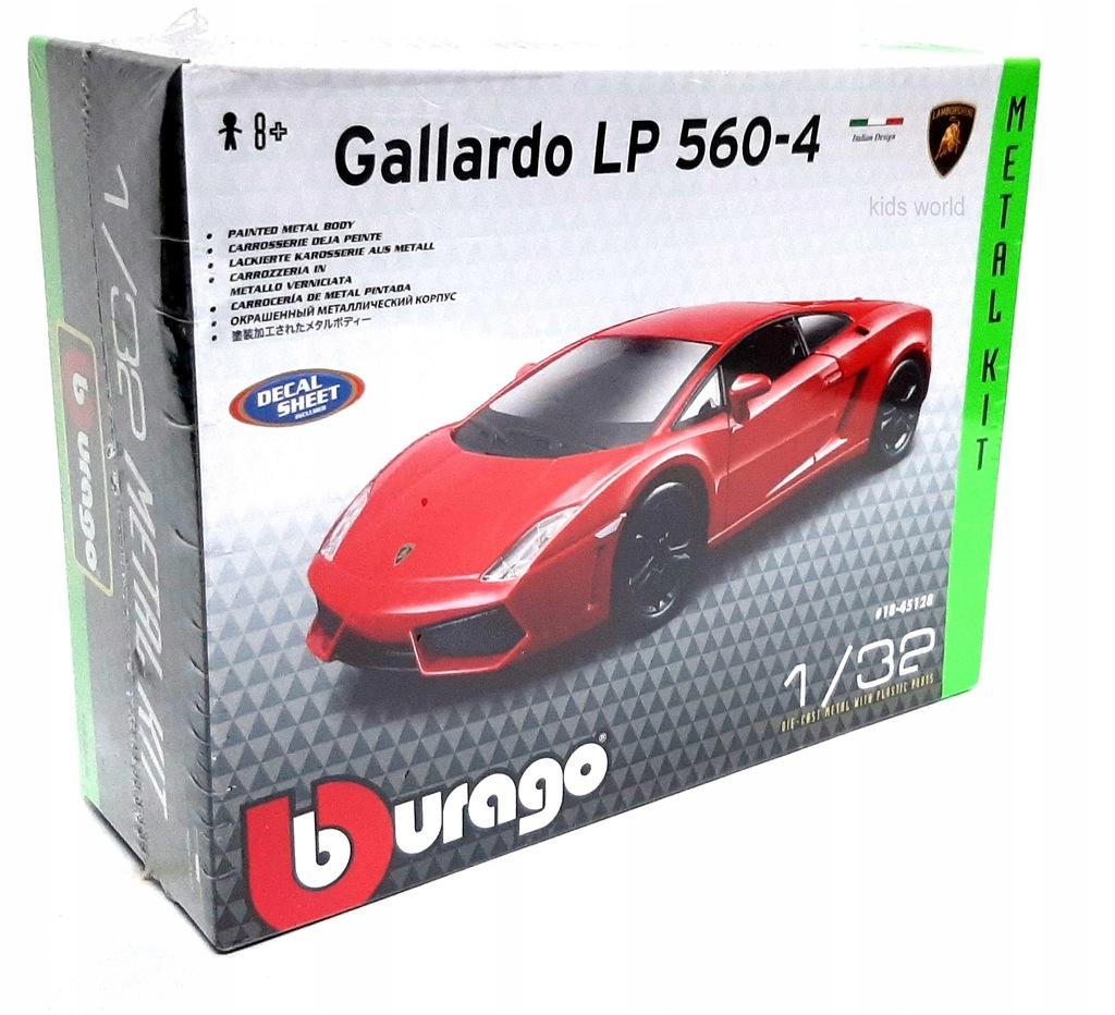 Bburago Lamborghini Gallardo Model Do Skladania 8897002253 Oficjalne Archiwum Allegro