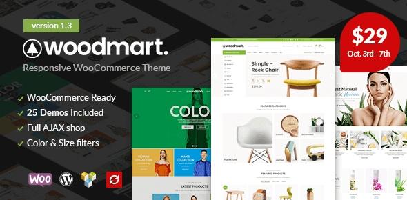 Woodmart najlepszy szablon Woocommerce dla sklepu!