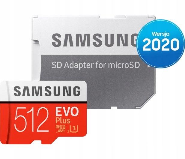 Karta pamięci Samsung 512GB microSDXC Evo Plus