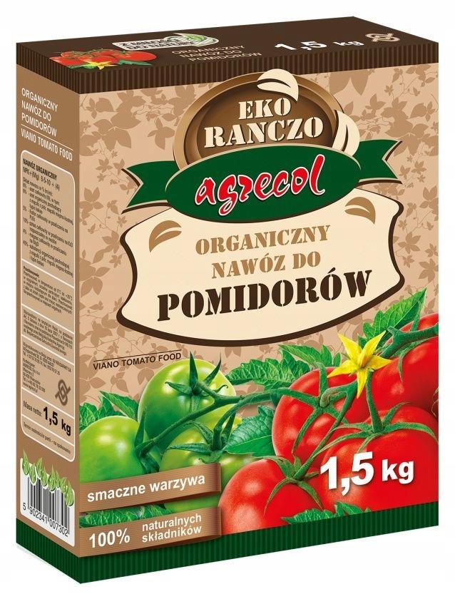 Organiczny Nawoz Do Pomidorow 1 5 Kg Agrecol 7799496923 Oficjalne Archiwum Allegro