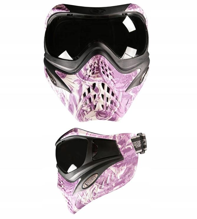 Maska VForce Grill Paintball NightMare jak Nowa