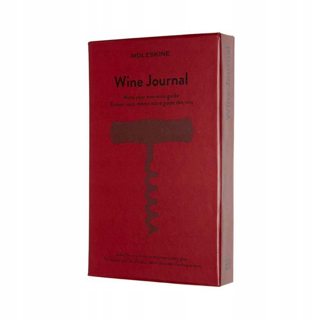 Notes Passion Journal Wine 400 stron MOLESKINE ___