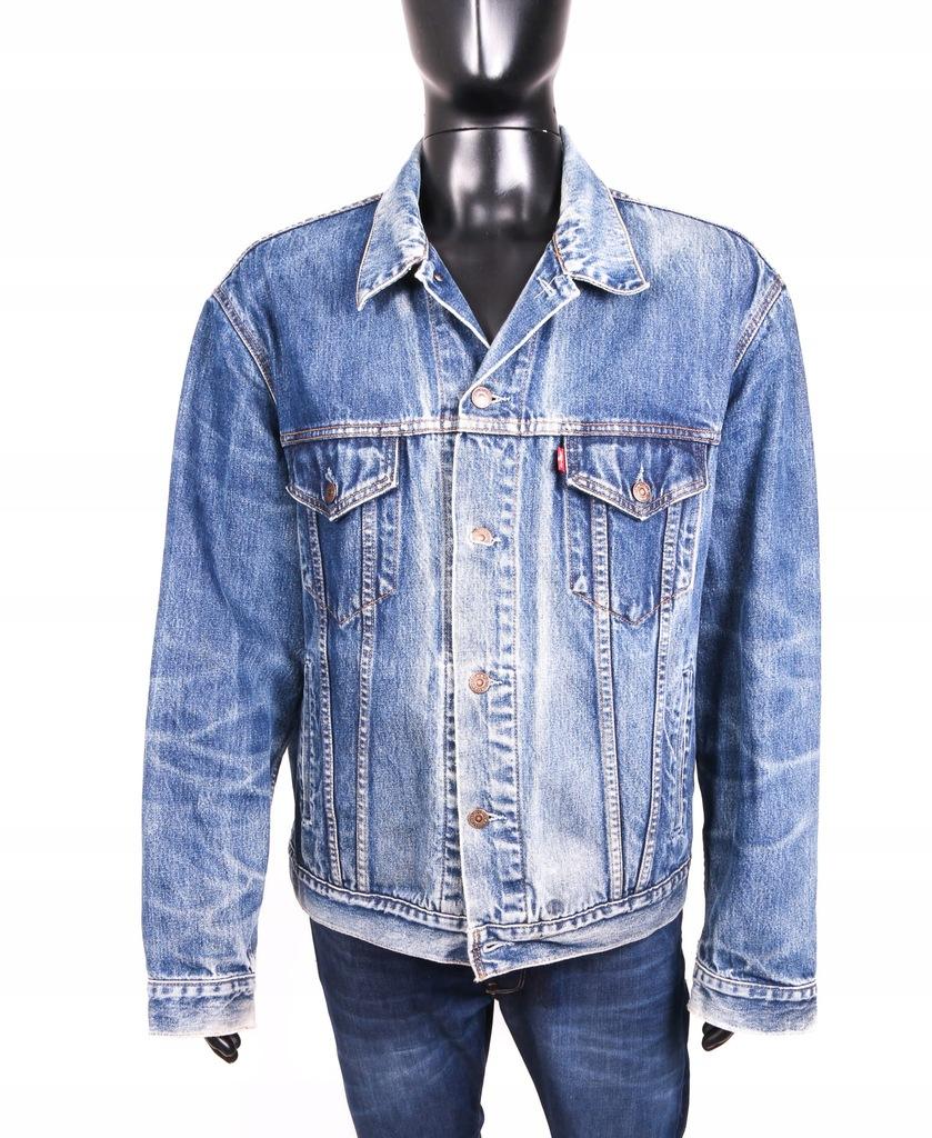 Levis Kurtka Dżinsowa Męska Jeans Vintage Blue r X