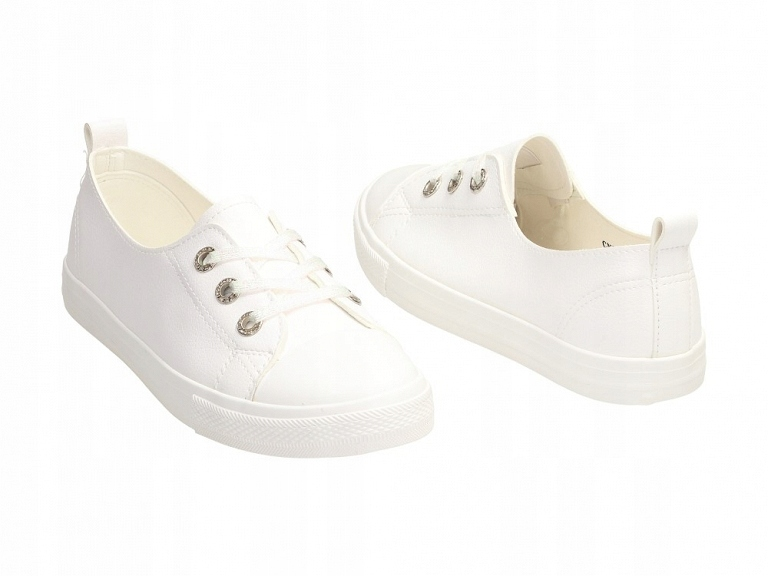 Białe trampki, buty damskie McKeylor 12901 r38