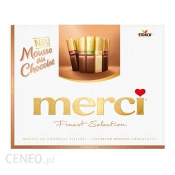 Bombonierka MERCI Musse au Chocolat z DE STORCK