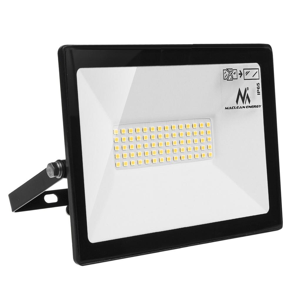 Naświetlacz LED slim 50W, 4000lm Cold White (6000K