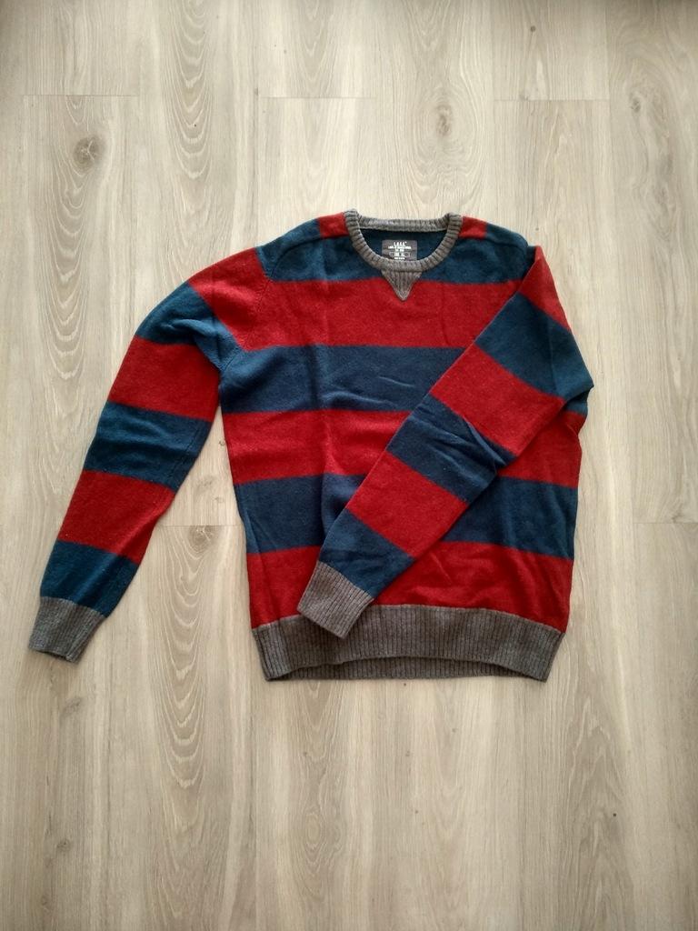 sweter z wełną H&M r.XL