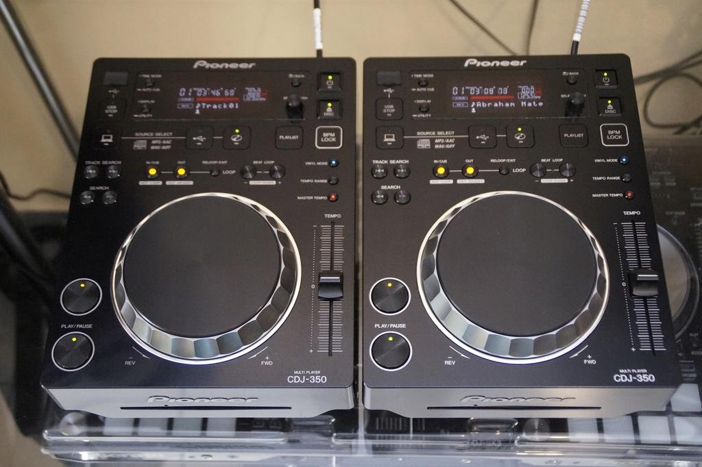 2 X PIONEER CDJ 350 GWARANCJA DJM 250 400 600 700