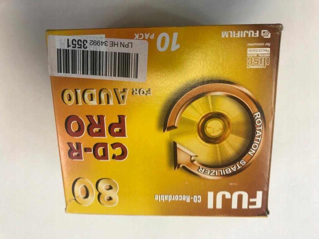Płyta CD-R FUJI Pro Audio 80 Minut RAD-WIK 10 szt