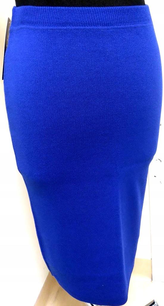 Spódnica ołówkowa Olimpia 36 dzianna wiskoza i akryl