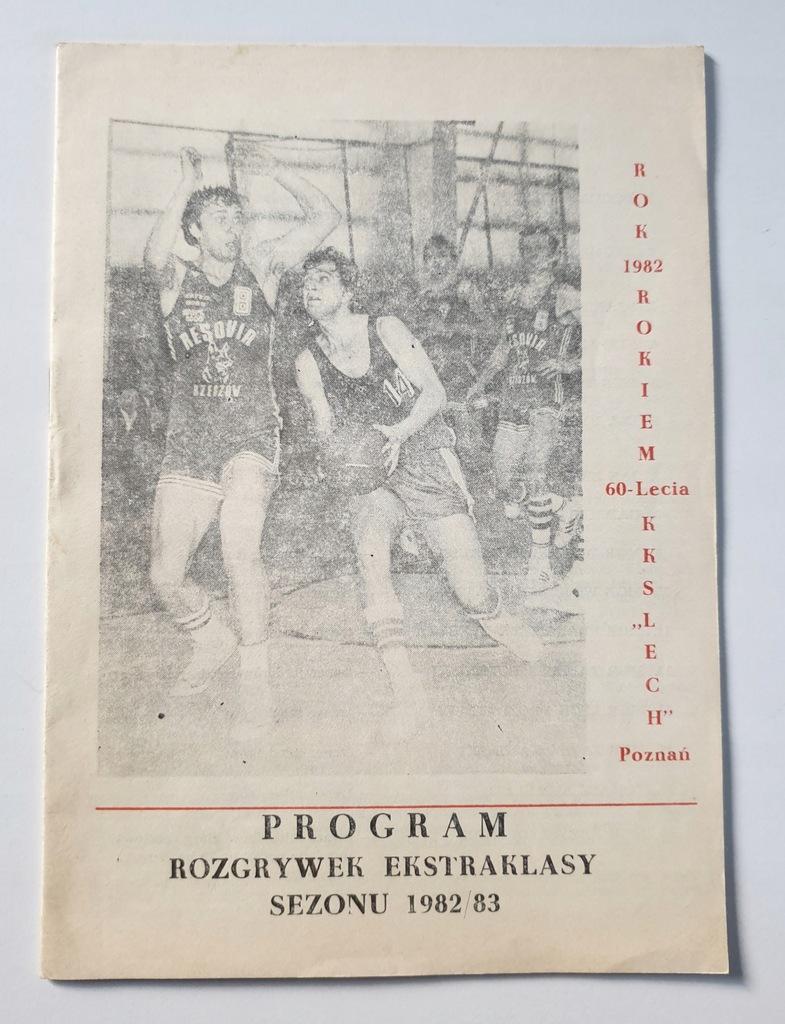 PROGRAM KKS LECH O M.P. W KOSZYKÓWCE 1982/1983