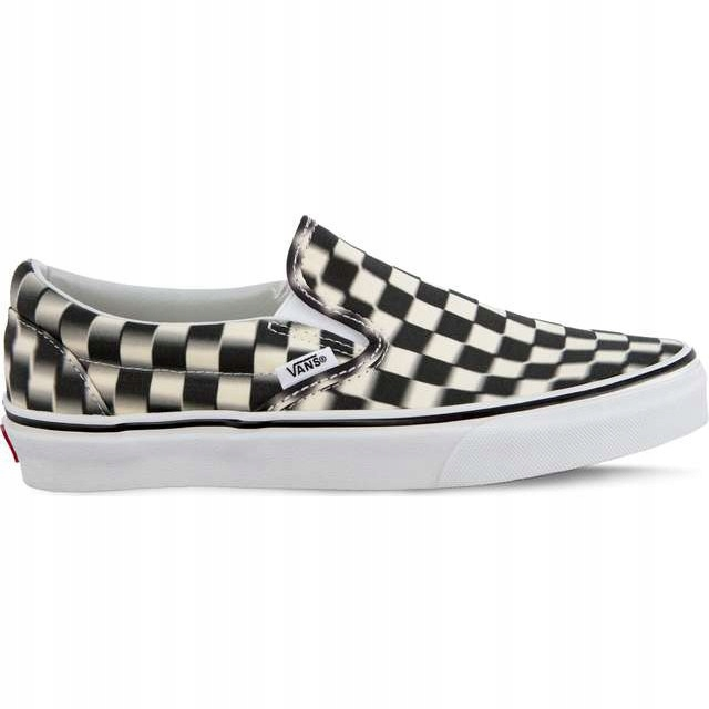 Classic Slip On Vjm Blur Check Pack Black r.39