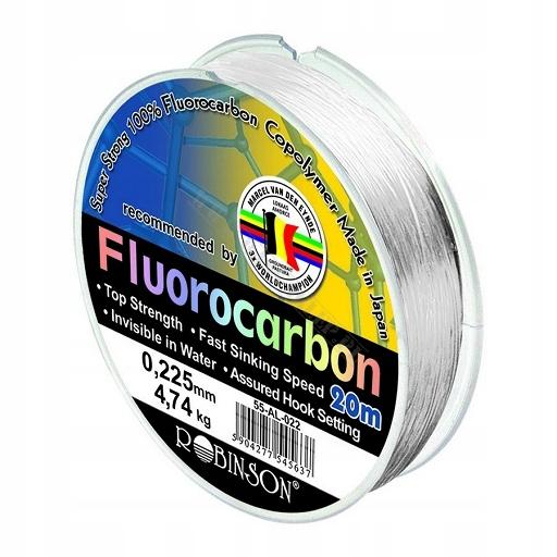 Robinson VDE-R Żyłka Fluorocarbon 0,225mm 20m