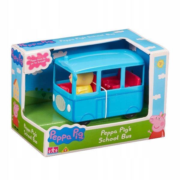 Świnka Peppa Szkolny autobus