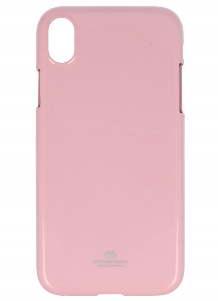 Etui Jelly Mercury IPHONE XR 6.1 ' jasno różowe