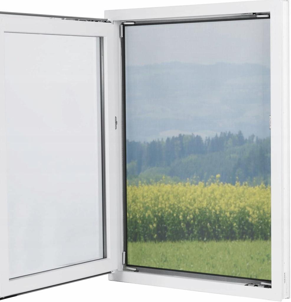 Moskitiera na okno Regulowana 150 x 130 na Magnesy