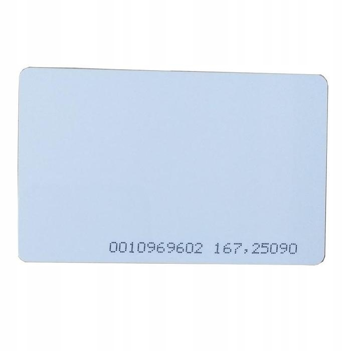 Karta zbliżeniowa UNIQUE RFID 125kHz tk4100