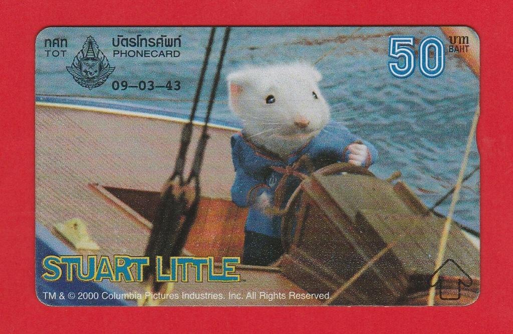 TAJLANDIA fauna szczur Stuart Little / seria 042E
