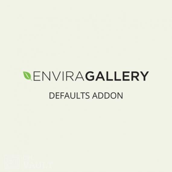 Wtyczka WordPress Envira Gallery Defaults Add-On