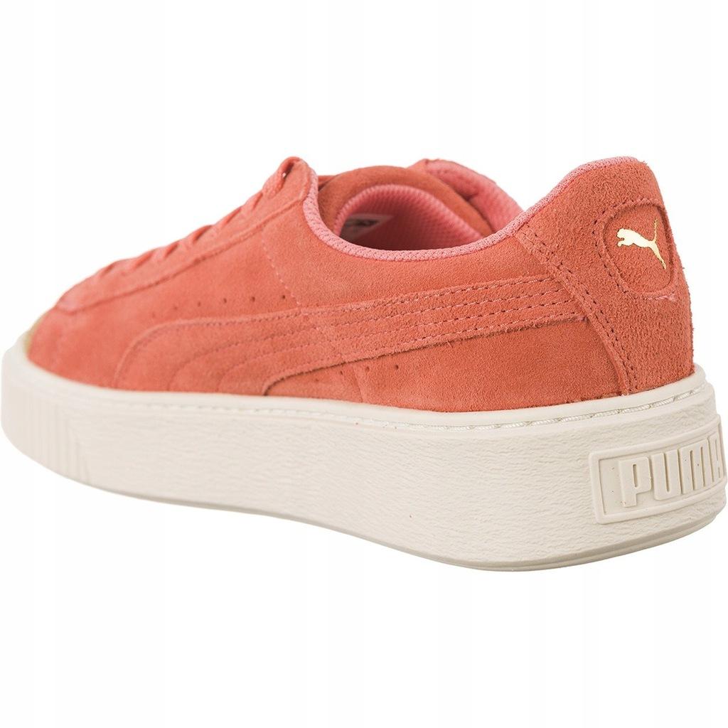 Puma trampki damskie różowe zamszowe r.38,5 7935198097