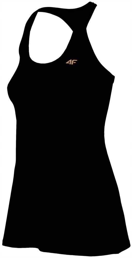 Damska koszulka 4F H4L19 TSDF001 czarna # S