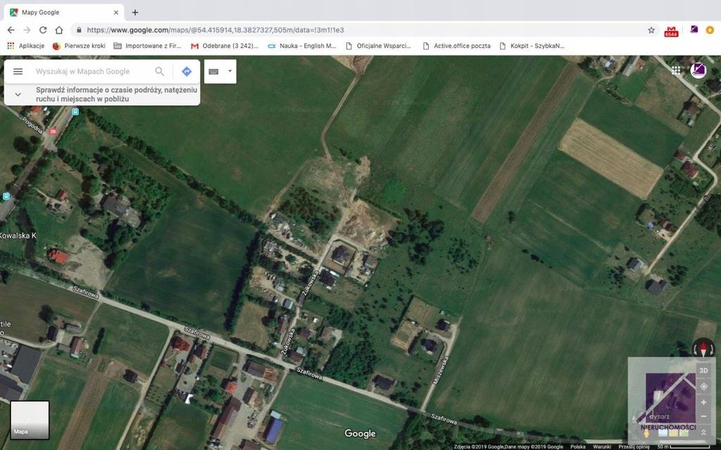 Działka, Tuchom, Żukowo (gm.), 1313 m²