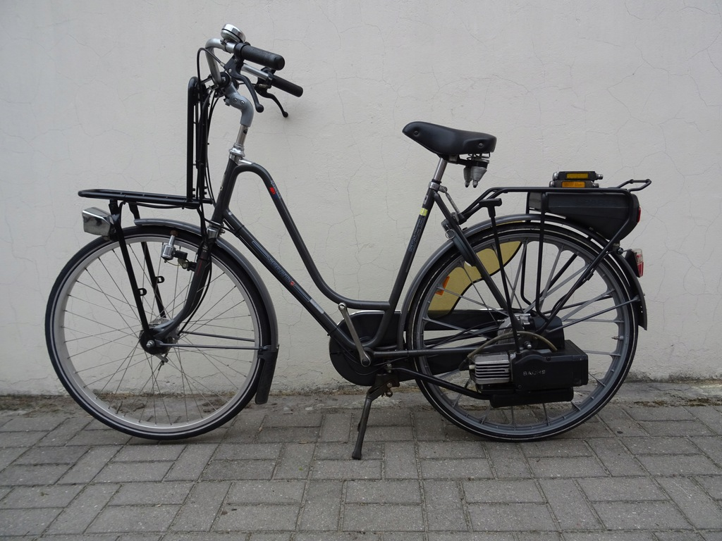 Rower z silnikiem Sparta met Sachs 301A-Torun