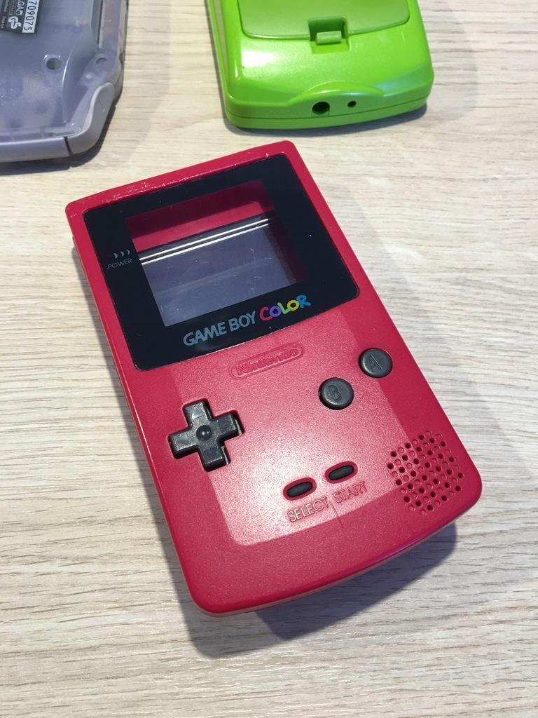 Obudowa Game Boy Color czerwona