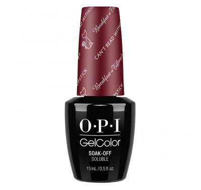 AKAR GelColor OPI CAN'T READ WITHOUT MY LIPSTICK