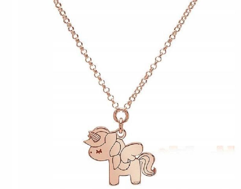 Ah! Jewellery Biżuteria Dziewczęca Jednorożec 925