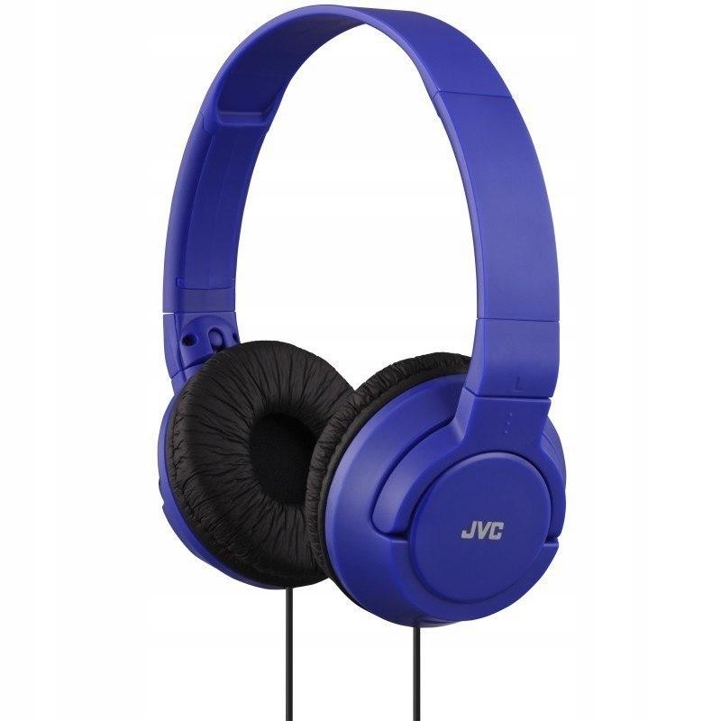 Słuchawki przewodowe HA-S180 Niebieskie