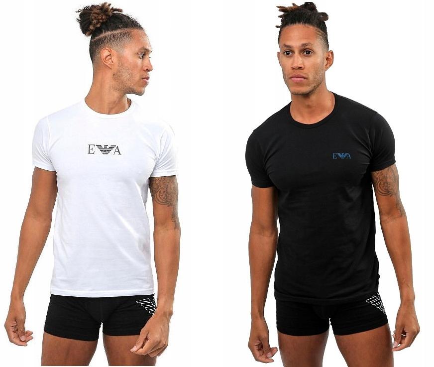 Koszulka Męska T-shirt ARMANI 2 PACK PAK