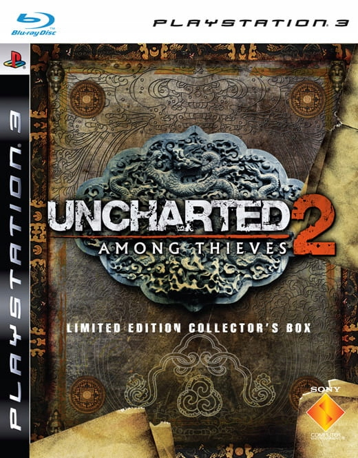 UNCHARTED 2 AMONG THIEVES PL PS3 EDYCJA SPECJALNA