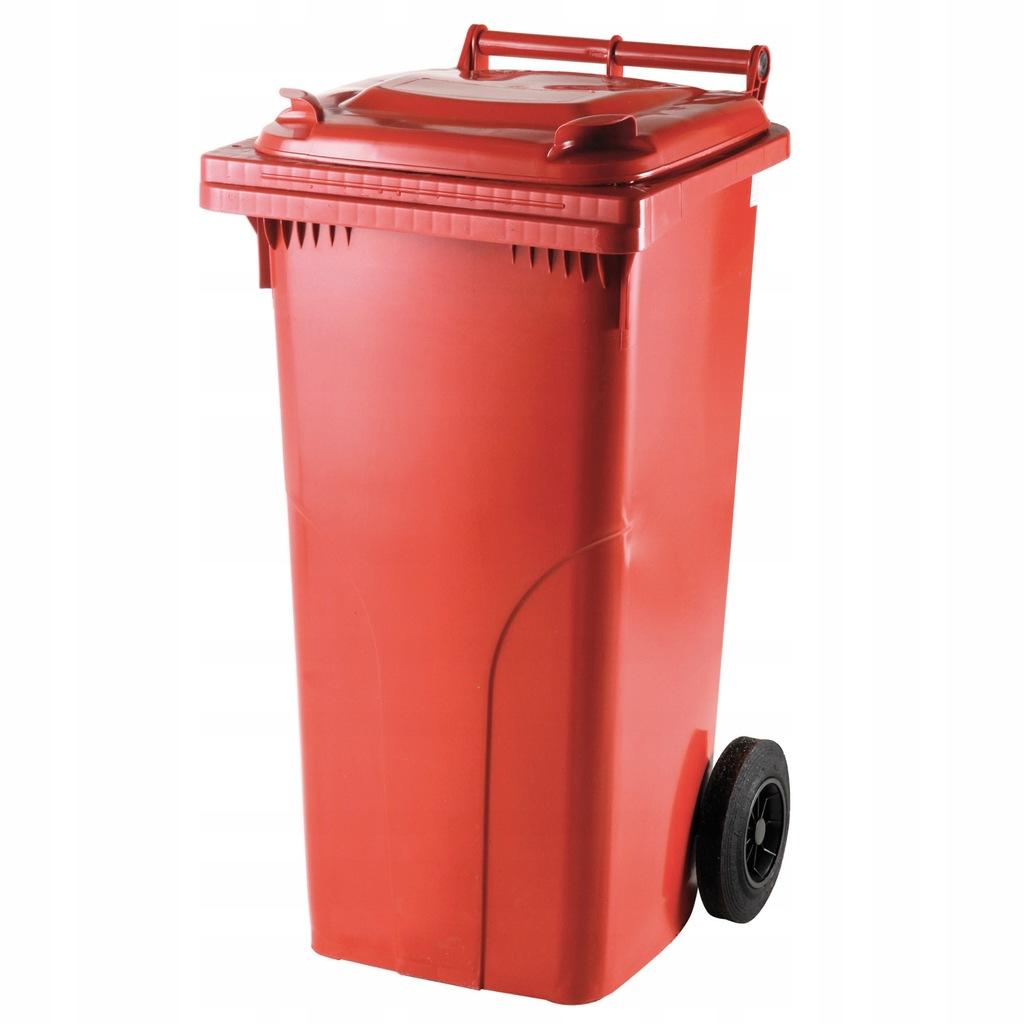 Pojemnik kubeł kosz na odpady śmieci 120L