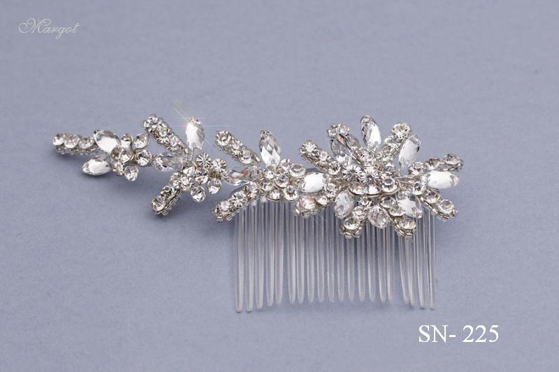 Stroik ślubny SN225 - fryzury ślubnej, głowę