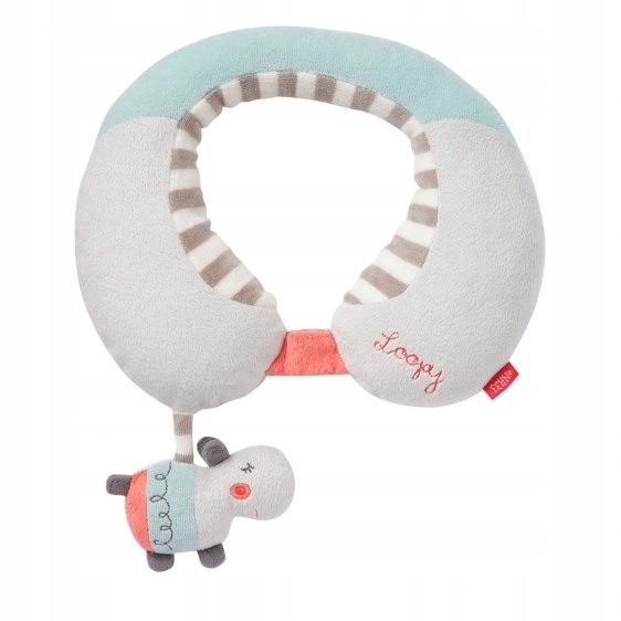 Zagłówek Podróżny Hipopotam Loopy, z Kolekcji: Loo